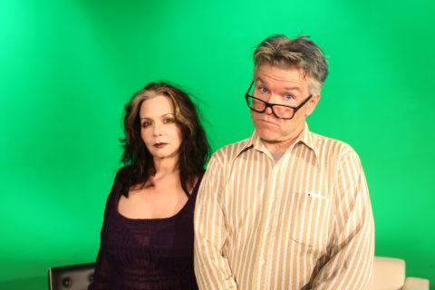 Hosts Mat Gleason & Lisa Derrick