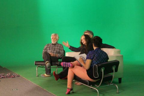 Kent Twitchell on the greenscreen